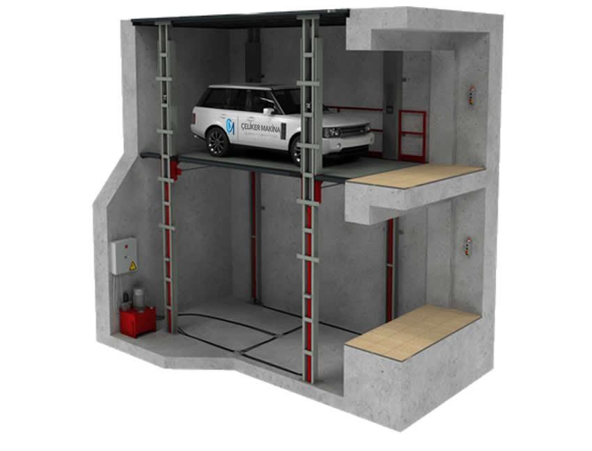 Araç Asansörü 3 Ton
