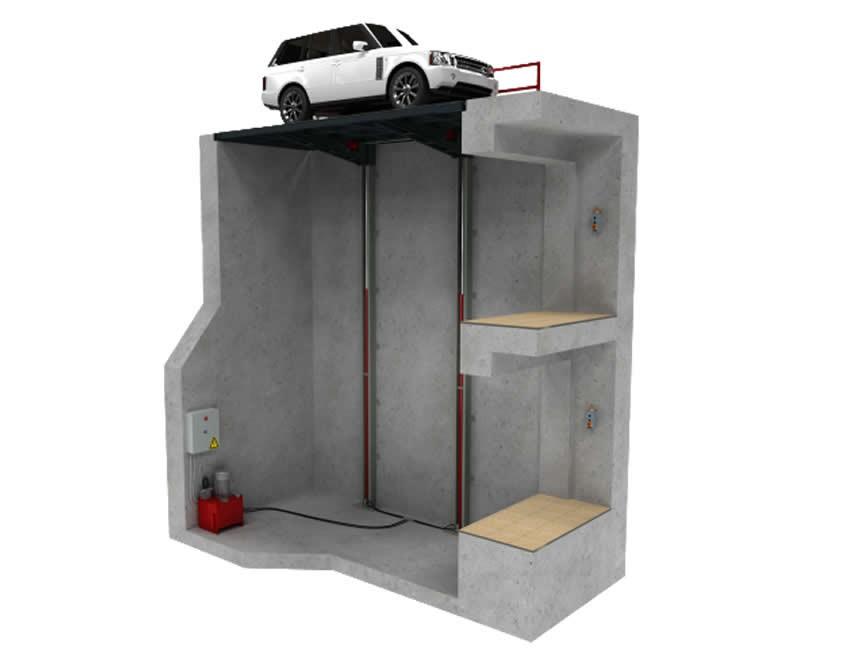 Araba  Asansörü 2,5 Ton