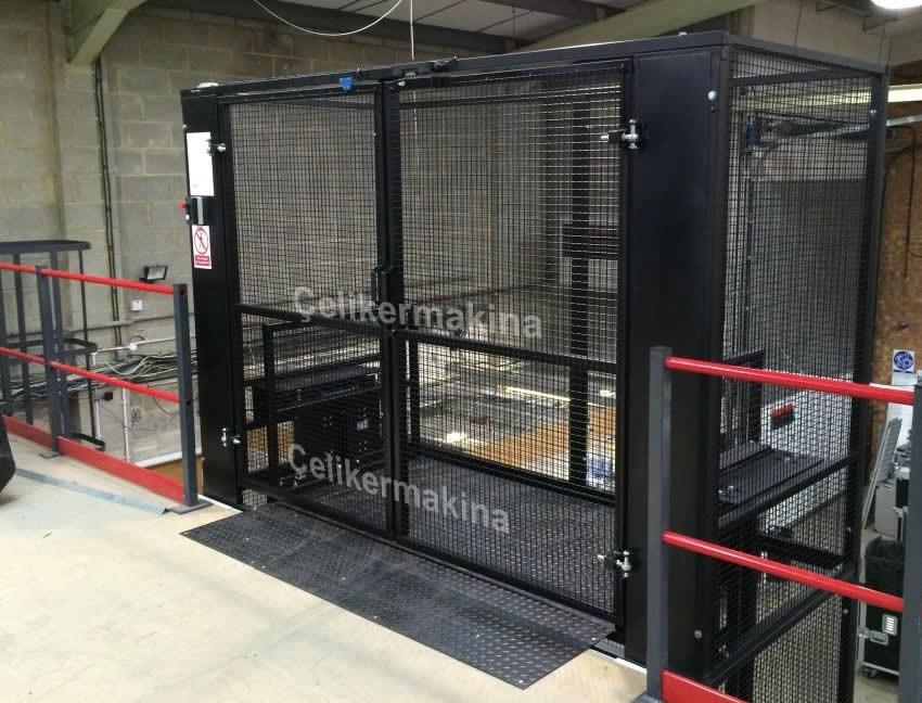 Hidrolik Asansör Çift Piston 3 Ton