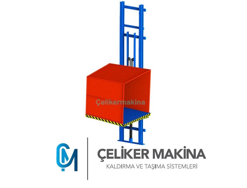 Hidrolik Yük Asansörü 1 Ton