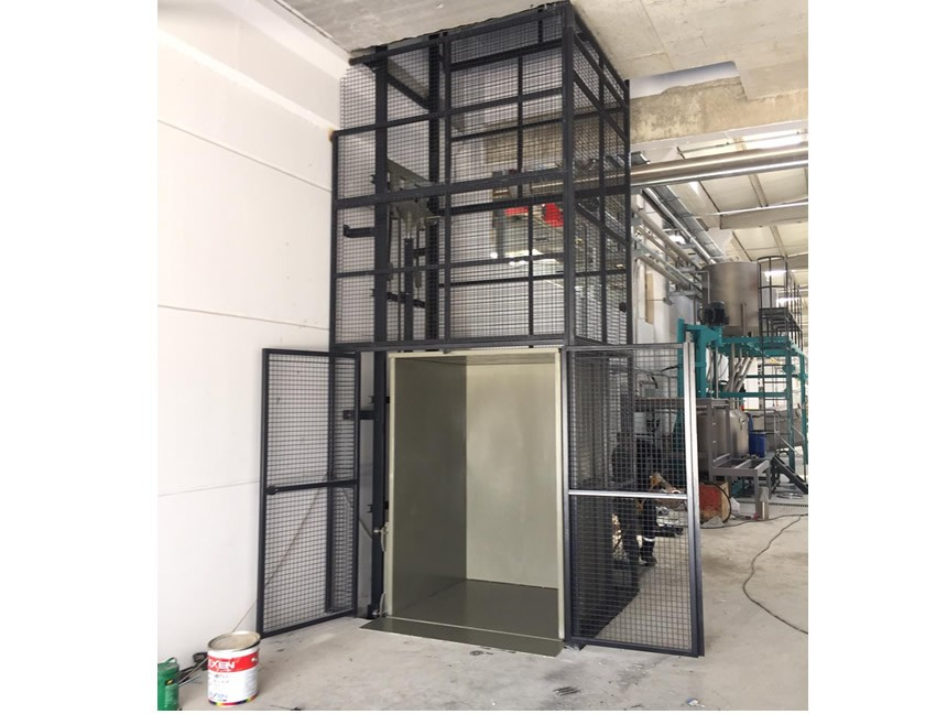 Hidrolik Yük Asansörü 750 kg