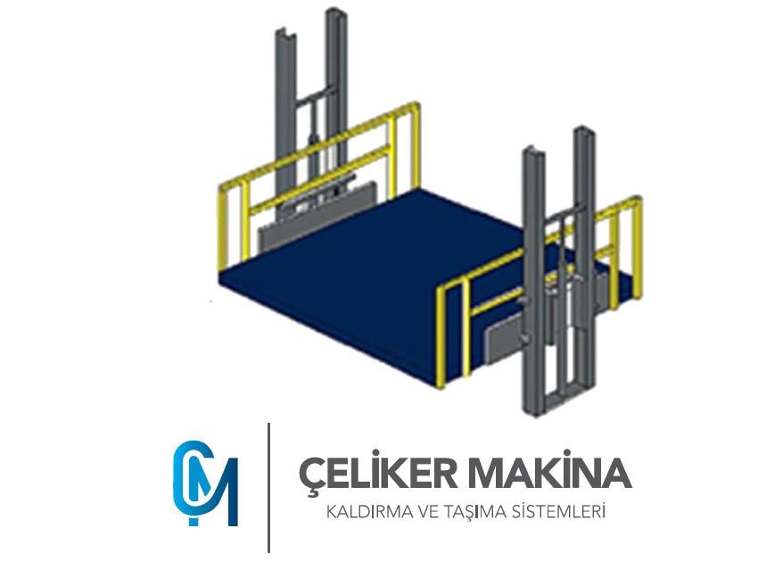 Hidrolik Yük Platformu 1,5 Ton