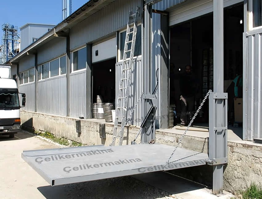 Hidrolik Yükleme Platformu 750 kg