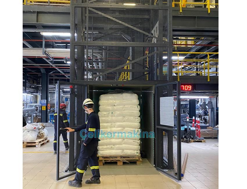 Hidrolik Yük Platformu 2 Ton