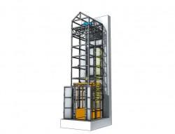 Halatlı Yük Asansörü 1 Ton