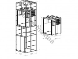 Halatlı Asansör 750 kg