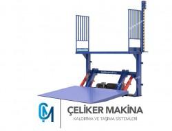 Hidrolik ürün yükleme platformu 1,5 Ton