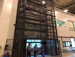 Hidrolik Asansör Çift Piston 1 Ton