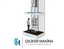 Yemekhane Asansörü 300 kg