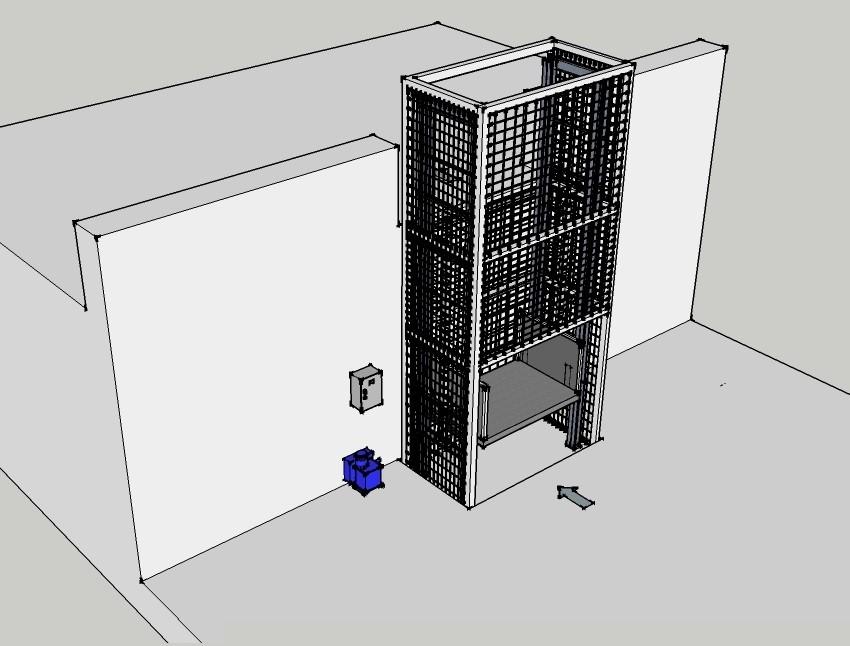 Çift Pistonlu Hidrolik Asansör 2 Ton