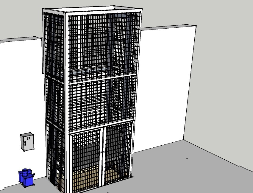 Çift Pistonlu Hidrolik Asansör 3 Ton