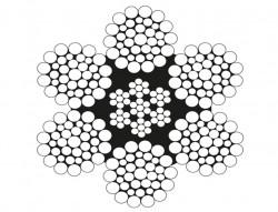 6x36 Çelik Özlü Halat