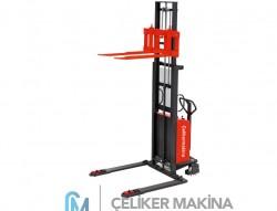 1 Ton 3 mt Geniş Ayaklı İstif Makinesi