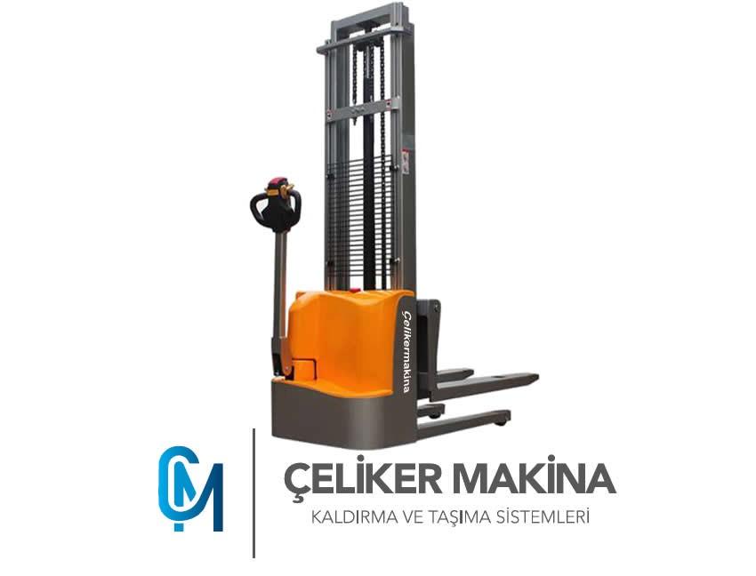 Akülü İstif Makinesi 1,5 Ton 2,5 mt