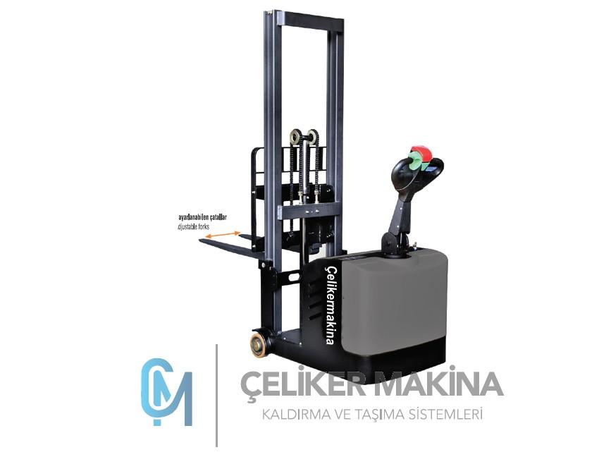 500 kg  Denge Ayaksız Akülü İstif Makinesi