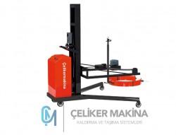 300 kg Yarı Akülü Varil Taşma Ve İstifleme Makinesi