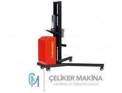300 kg Yarı Akülü Varil Taşıma İstif Makinesi