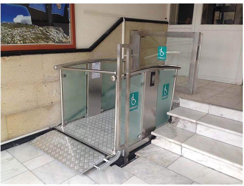 500 kg Engelli Makaslı Asansör