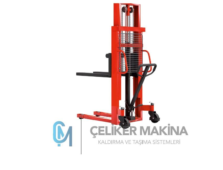 1 Ton 2,5 mt Manuel İstif Makinesi