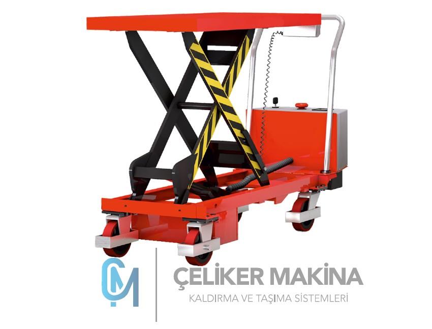 500 kg Akülü Makaslı Platform