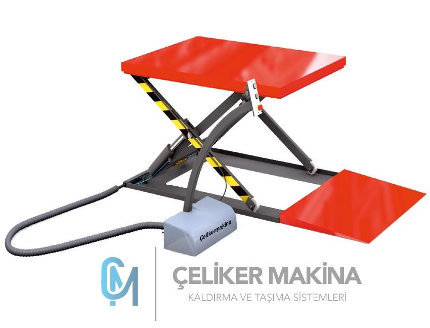 2 Ton Elektrikli Sabit Yük Platform