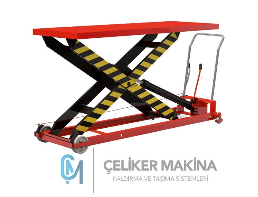 1 Ton Makaslı Manuel Platform