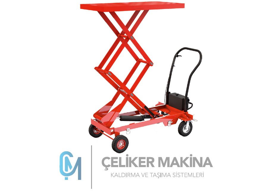 500 kg Arazi Tipi Manuel Yük Platform