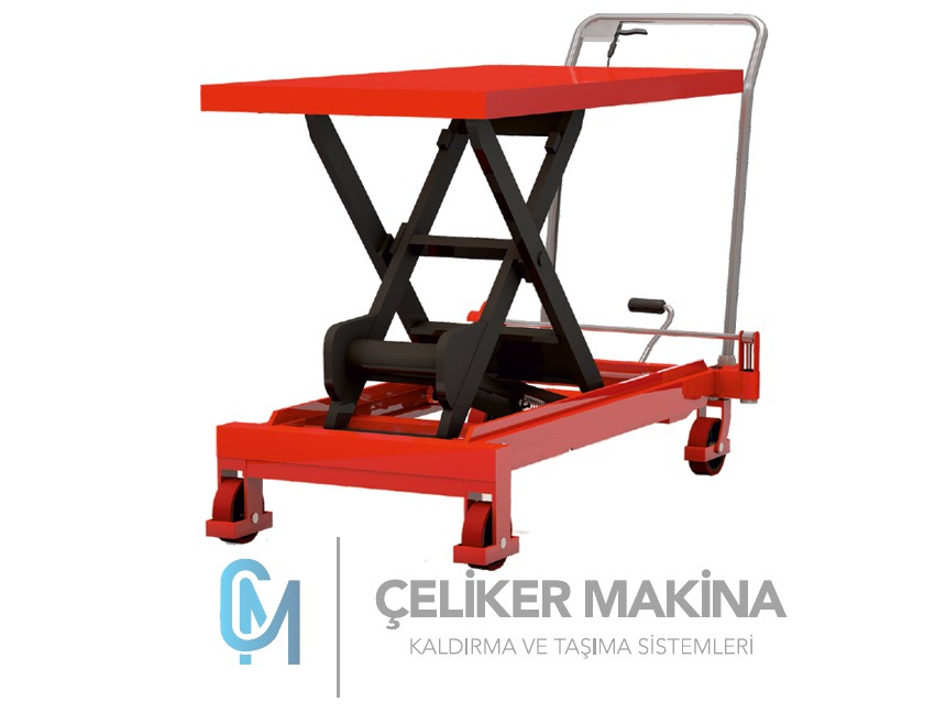 1,5 Ton Manuel Makaslı Platform