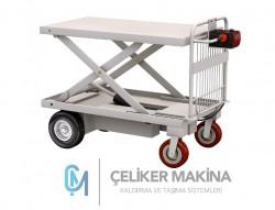 400 kg Akülü Makaslı Platform