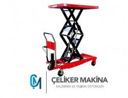 Makaslı Platform Manuel 1 Ton