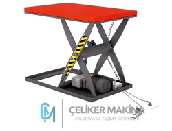 2,5 Ton Elektrikli Makaslı Platform