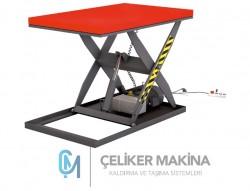 1 Ton Elektrikli Makaslı Platform