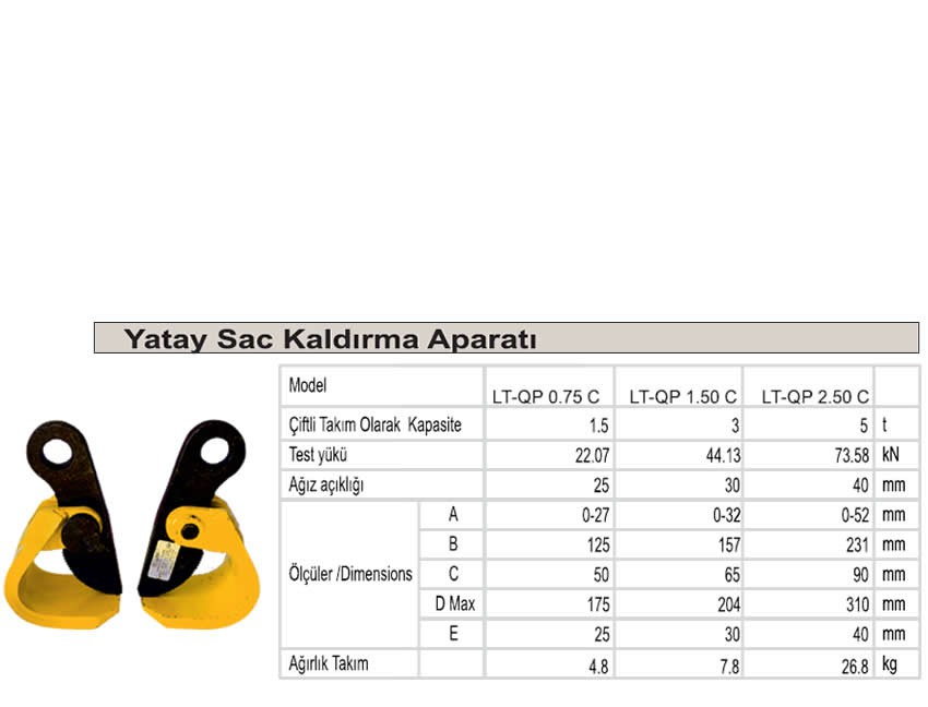 Yatay Sac Kapma 5 Ton