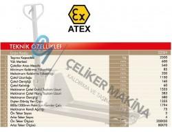 Exproof Transpalet Atex