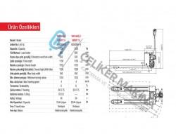 Akülü Transpalet  ekonomik 1,5 ton