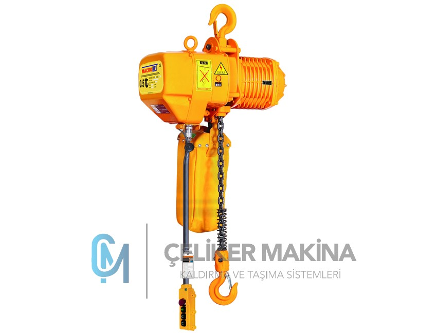 Elektrikli Caraskal Çift Hız 500 kg
